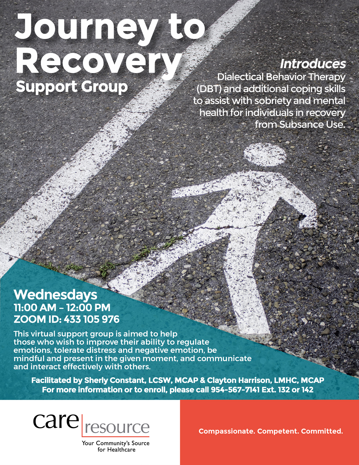 Groupe de soutien Journey to Recovery