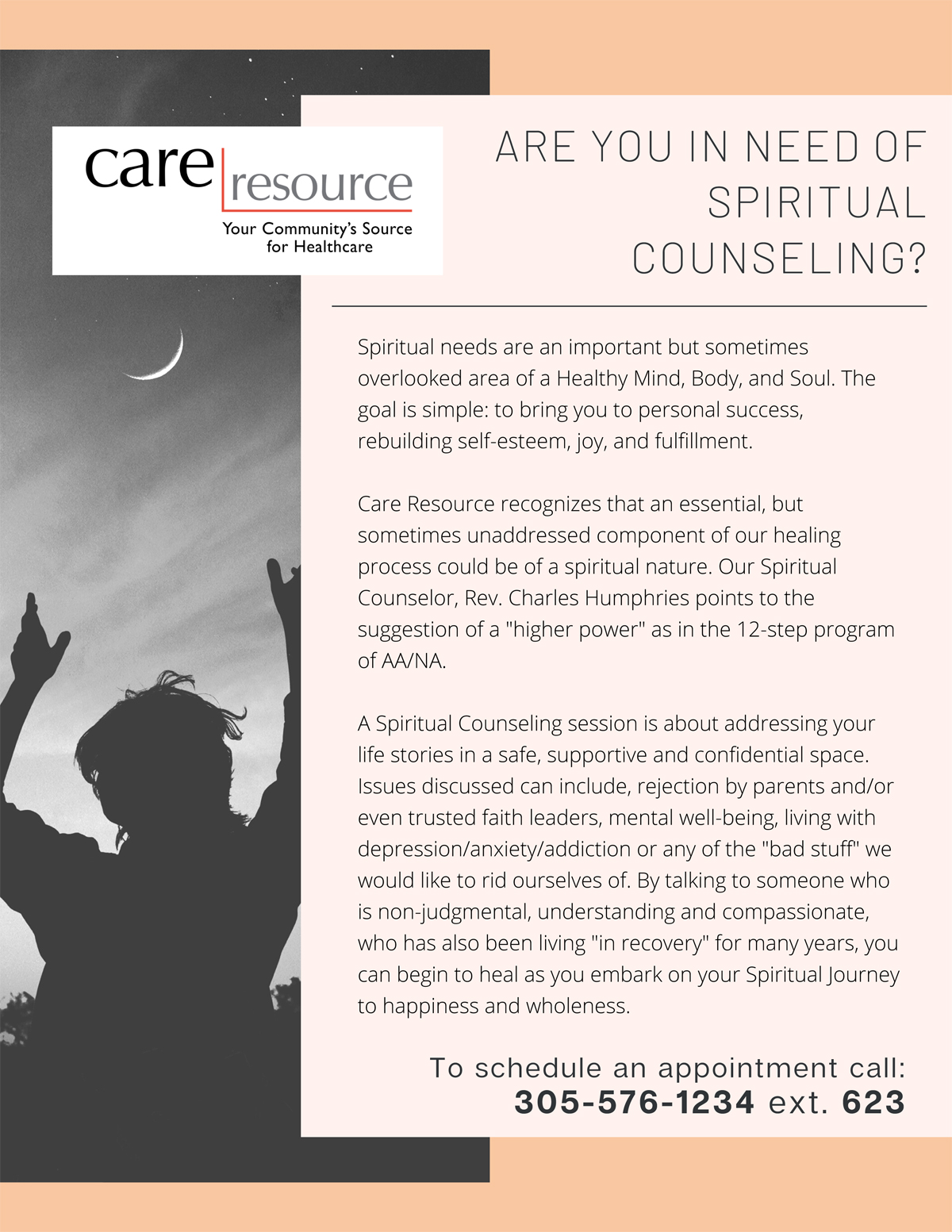 Spiritual Counseling Session
