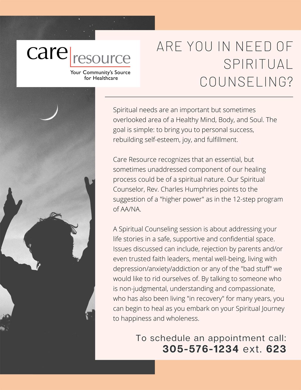 Séance de counseling spirituel