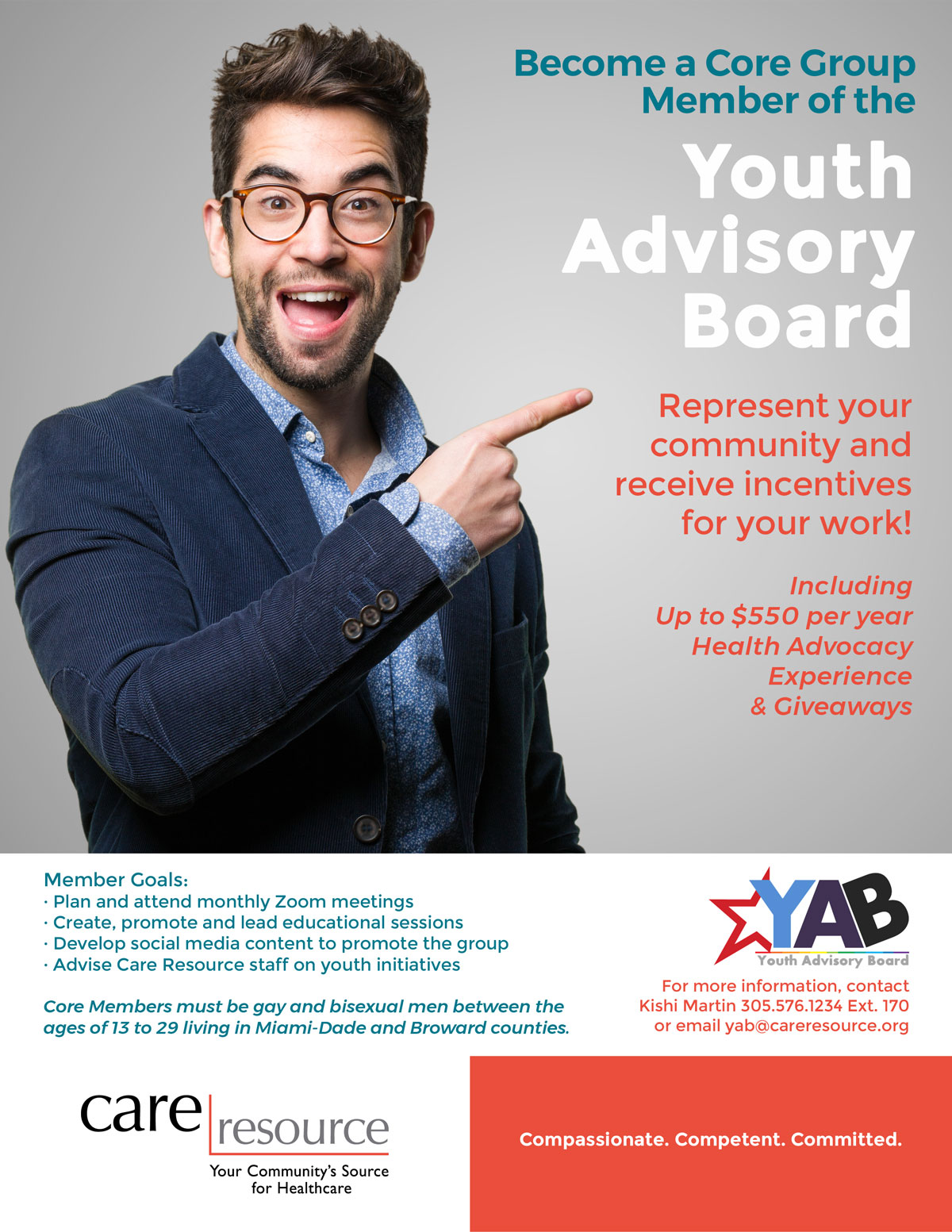 YAB Recruitment Flyer