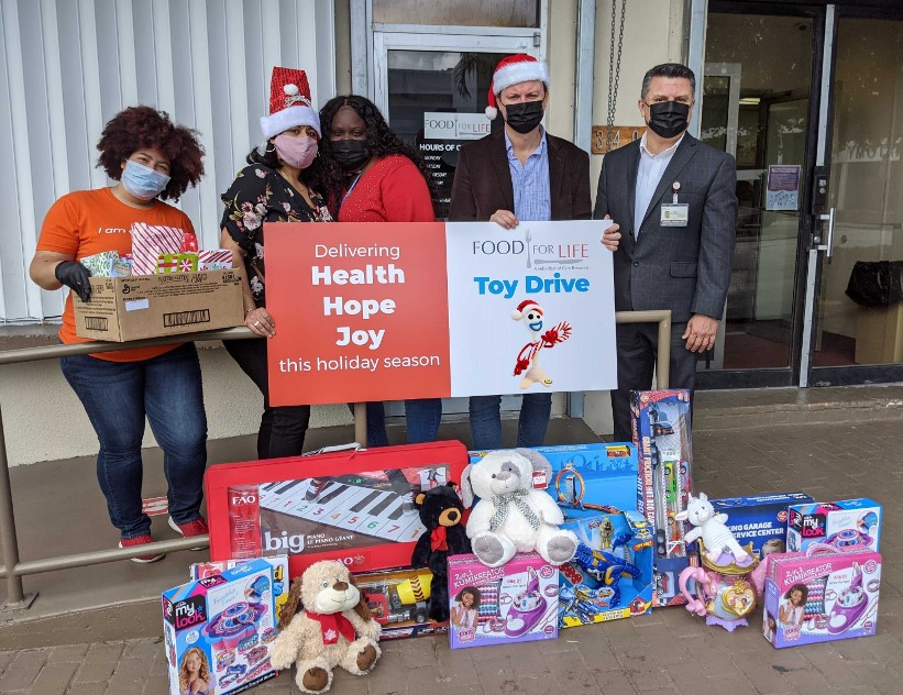 Toy Drive at Food For Life Network